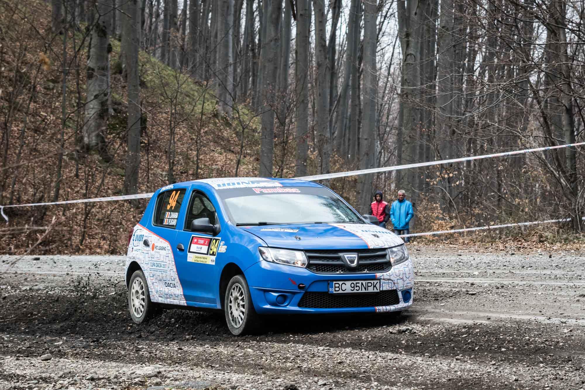 Cupa DACIA 2017 - Tess Rally-2